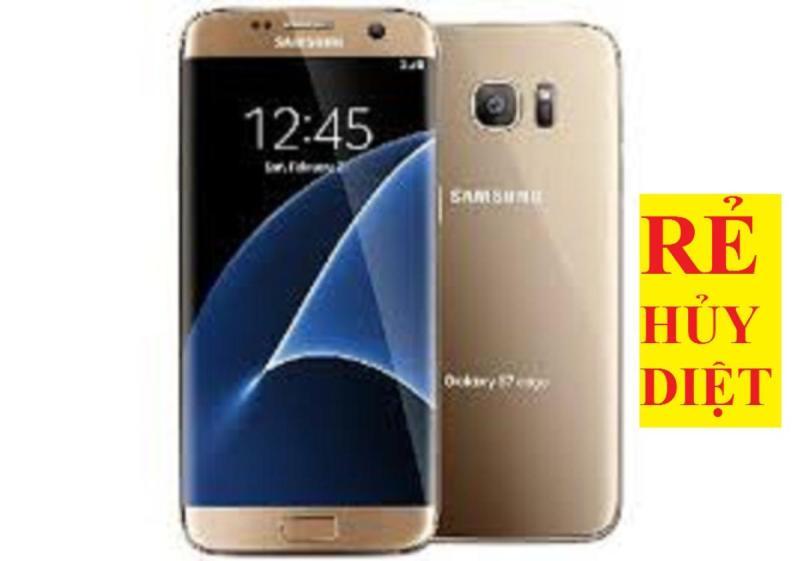 Samsung Galaxy S7 Edge Chính Hãng 2sim - ram 4G/32G - Chơi Free Fire/PUBG mượt