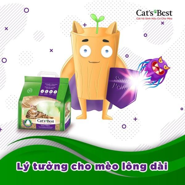 Cát vệ sinh hữu cơ cats best smart pellets - 2.5kg cam kết sản phẩm đúng mô tả chất lượng đảm bảo an toàn đến sức khỏe thú cưng của bạn