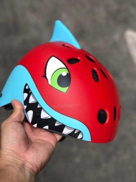 Giá bán Nón bảo hiểm thời trang cá mập TRẺ EM (chuyên sỉ) ngocquyenshop