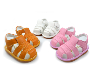 Giày đẹp cho bé tập đi. Giày sandal cho bé. Giày sandal cho bé trai từ 6-14 tháng. Giày sandal có kèn cho bé gái từ 6-14 tháng. Giày cho bé mới biết đi. Giày cute cho bé. thumbnail