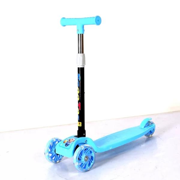 Xe trượt scooter 3 bánh có đèn phát sáng - xe trượt cho có thể gập gọn dễ dàng thông minh
