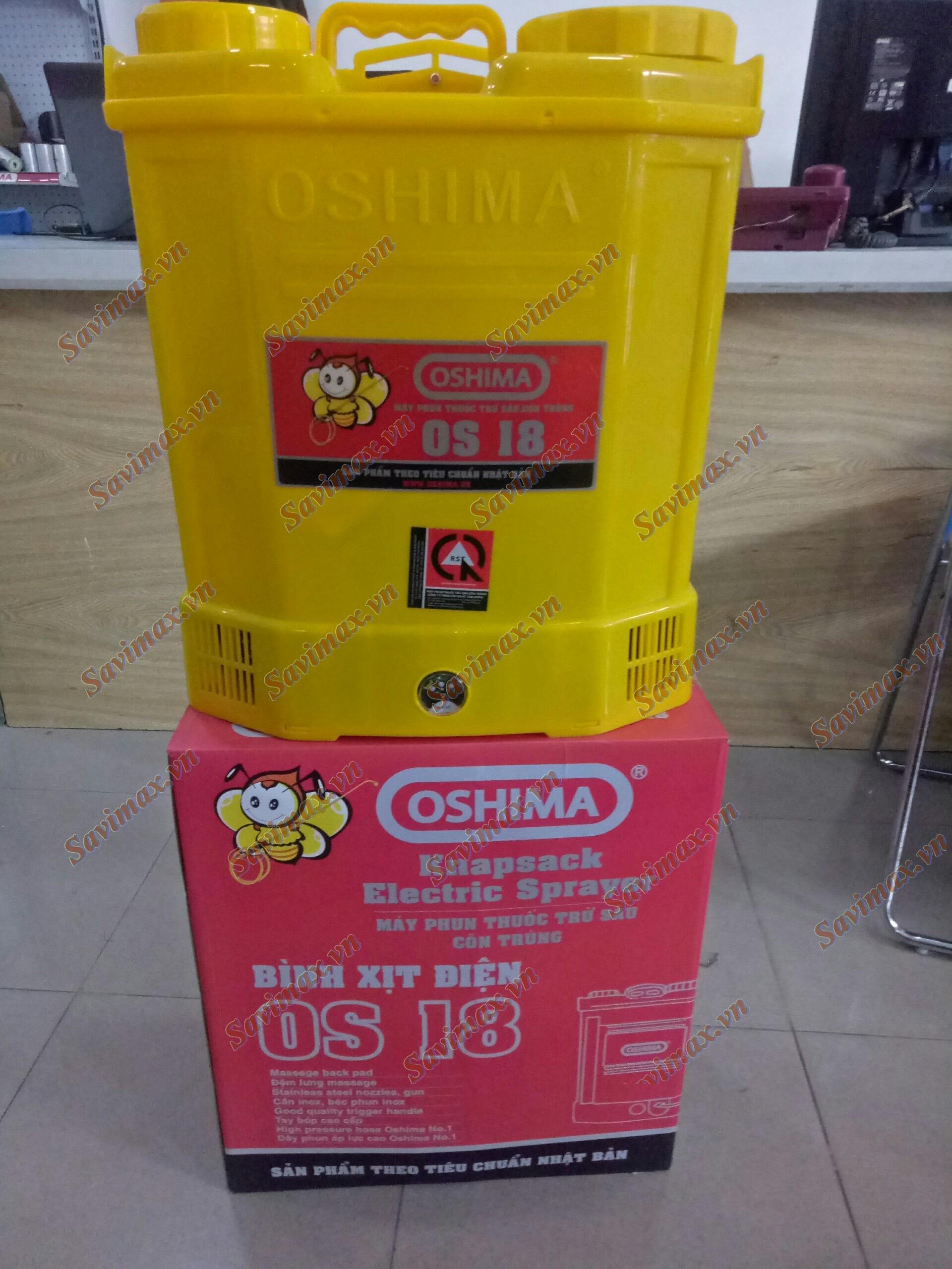 Bình xịt điện Oshima OS18 dung tích 18 lít