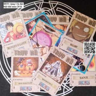 Thẻ Anime One Piece loại truy nã (CAM KẾT KHÔNG TRÙNG) tặng 1 lá đặt biệt khi mua 20 lá ID 1459 R thumbnail