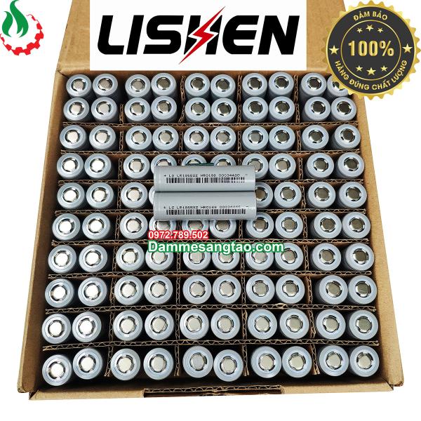 DMST Cell Pin 18650 Lishen 2600mah Xả 10A (Thùng 100 Cell)