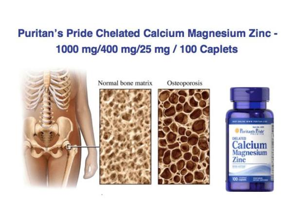 Sales 85% - Cao hơn, đẹp trai xinh gái hơn (HSD tháng 5/2021) Puritans Pride Chelated Calcium, Magnesium & Zinc 100 viên