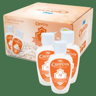 [HCM]COMBO 1 THÙNG 24 CHAI Nước rửa tay Gel rửa tay khô Clean Day hương cúc la mã 60ml Dùng để làm sạch da tay kháng khuẩn khử mùi tay hàng ngày thumbnail