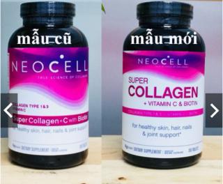 Viên uống đẹp da NEOCELL SUPER COLLAGEN type 1-3 +C +BIOTIN 360 Viên thumbnail