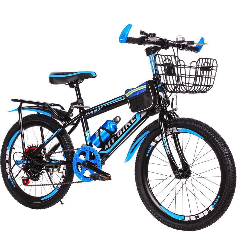 Mua [ rẻ vô địch] Xe đạp địa hình cỡ 24 inh cho bé (9-15 tuổi) có tặng kèm giỏ và gácbaga