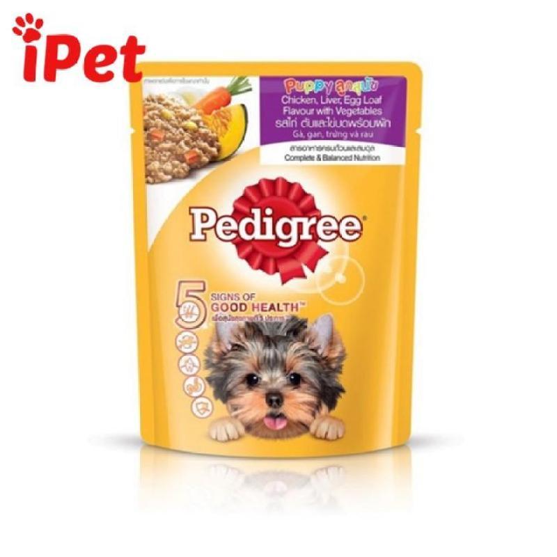 Pate Thức Ăn Mềm Pedigree Cho Chó Con Gói 80g - iPet Shop