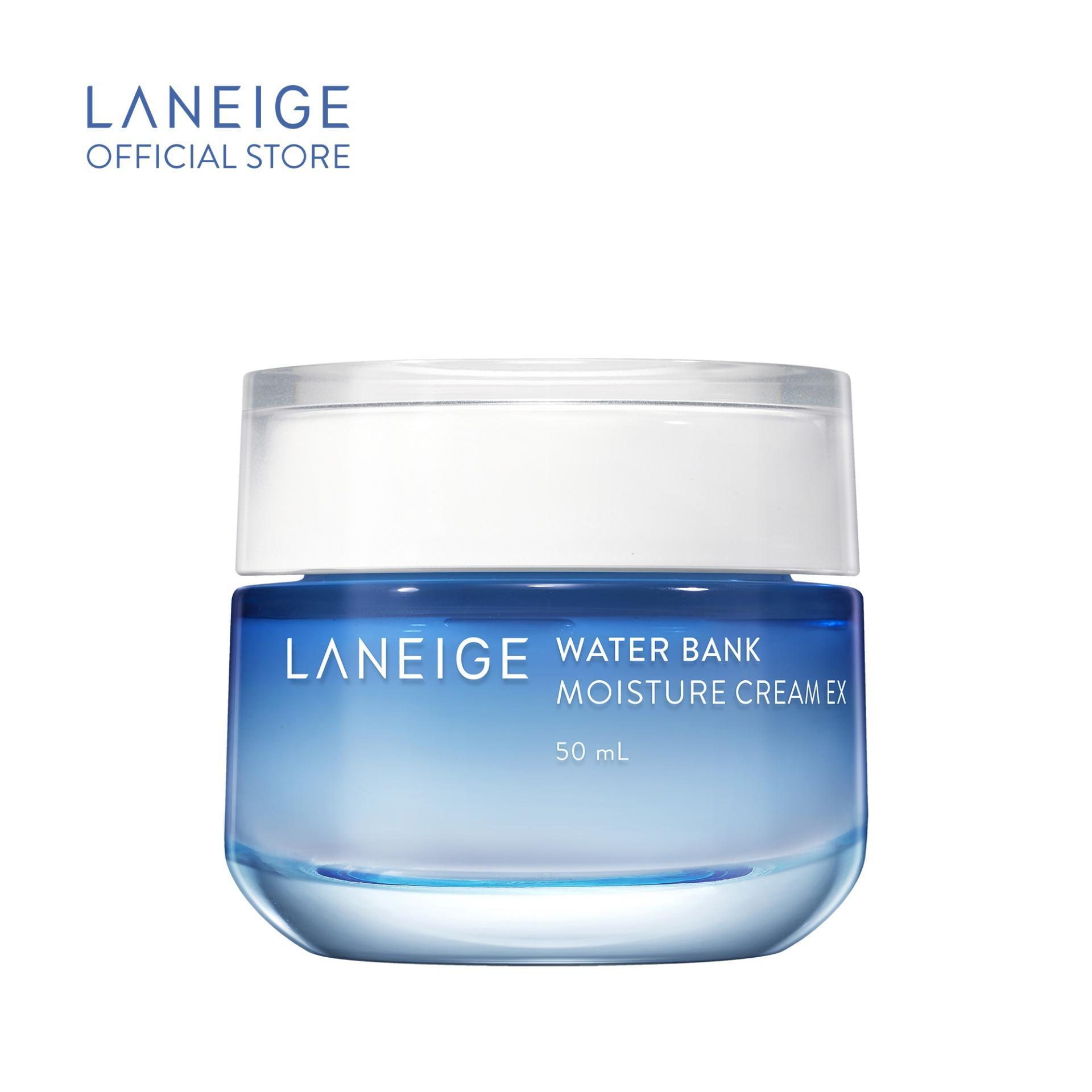 Kem dưỡng ẩm cho da khô Laneige Water Bank Moisture Cream Ex 50ML