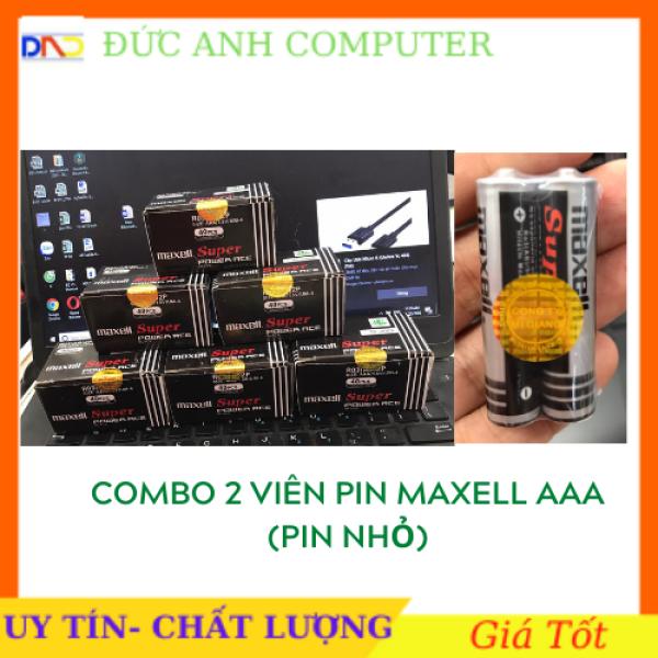 Bảng giá Combo 2 viên Pin 3A MAXELL 1.5V Chính Hãng Mới 100%- Gắn Hầu Hết Các Thiết Bị Điện Tử - Giá SỈ Phong Vũ