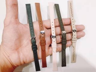 Dây da đồng hồ Julius Hàn Quốc size 10 - Chọn màu sắc thumbnail