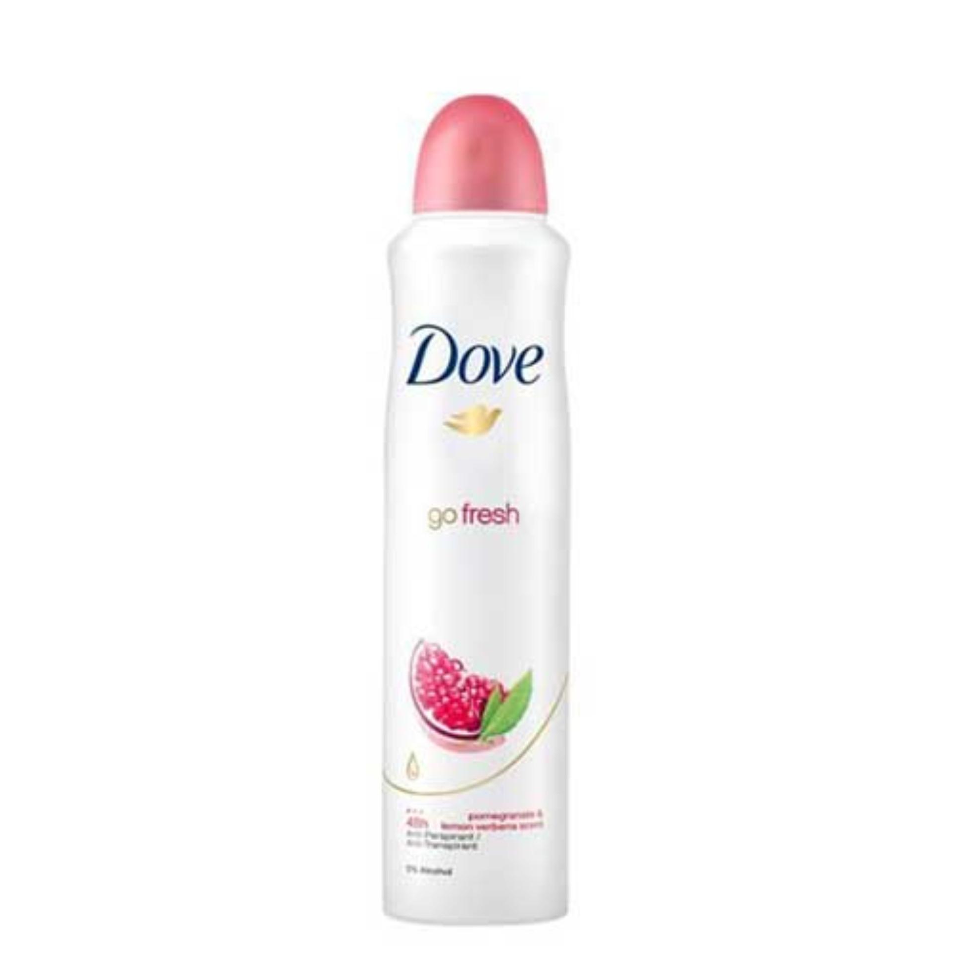 Xịt khử mùi Dove Beauty Finish 48h -  Hồng chính hãng