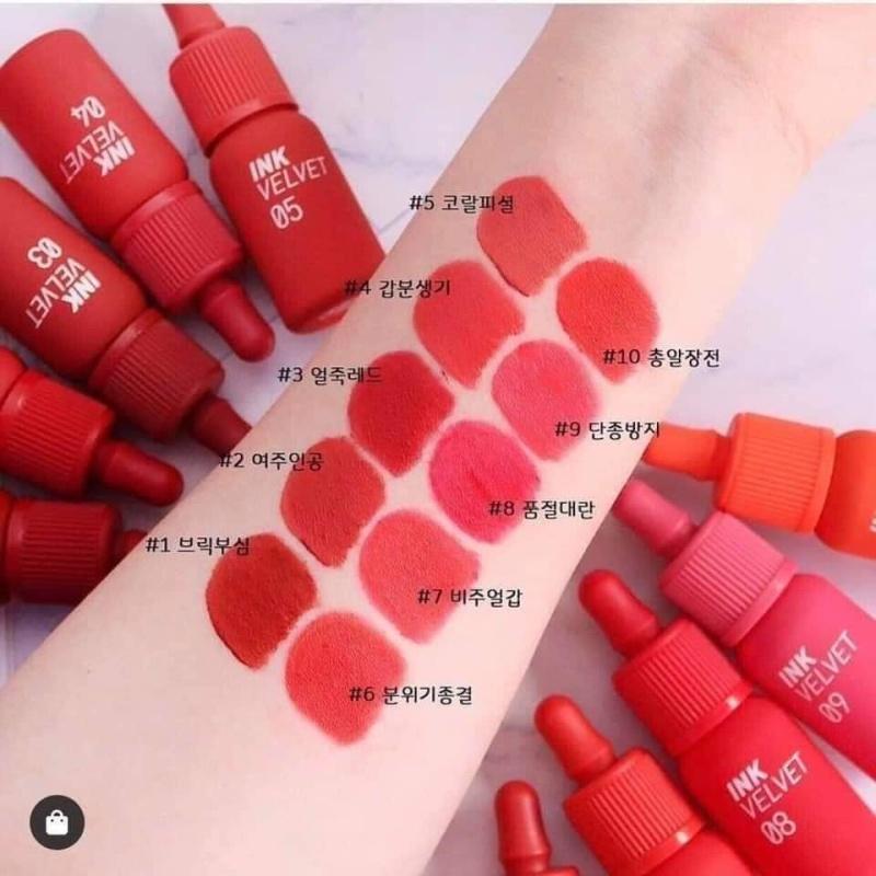 Son kem Ink Velvet Lip Tint mẫu mới 2019