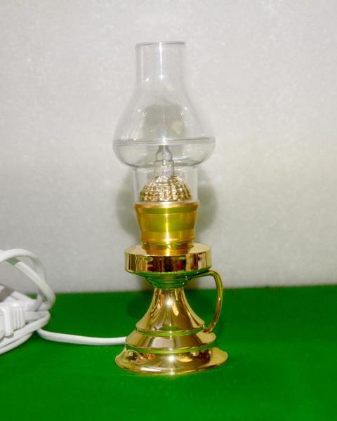 Đèn dầu cắm điện bóng đèn Led cao 16cm-Có video sản phẩm