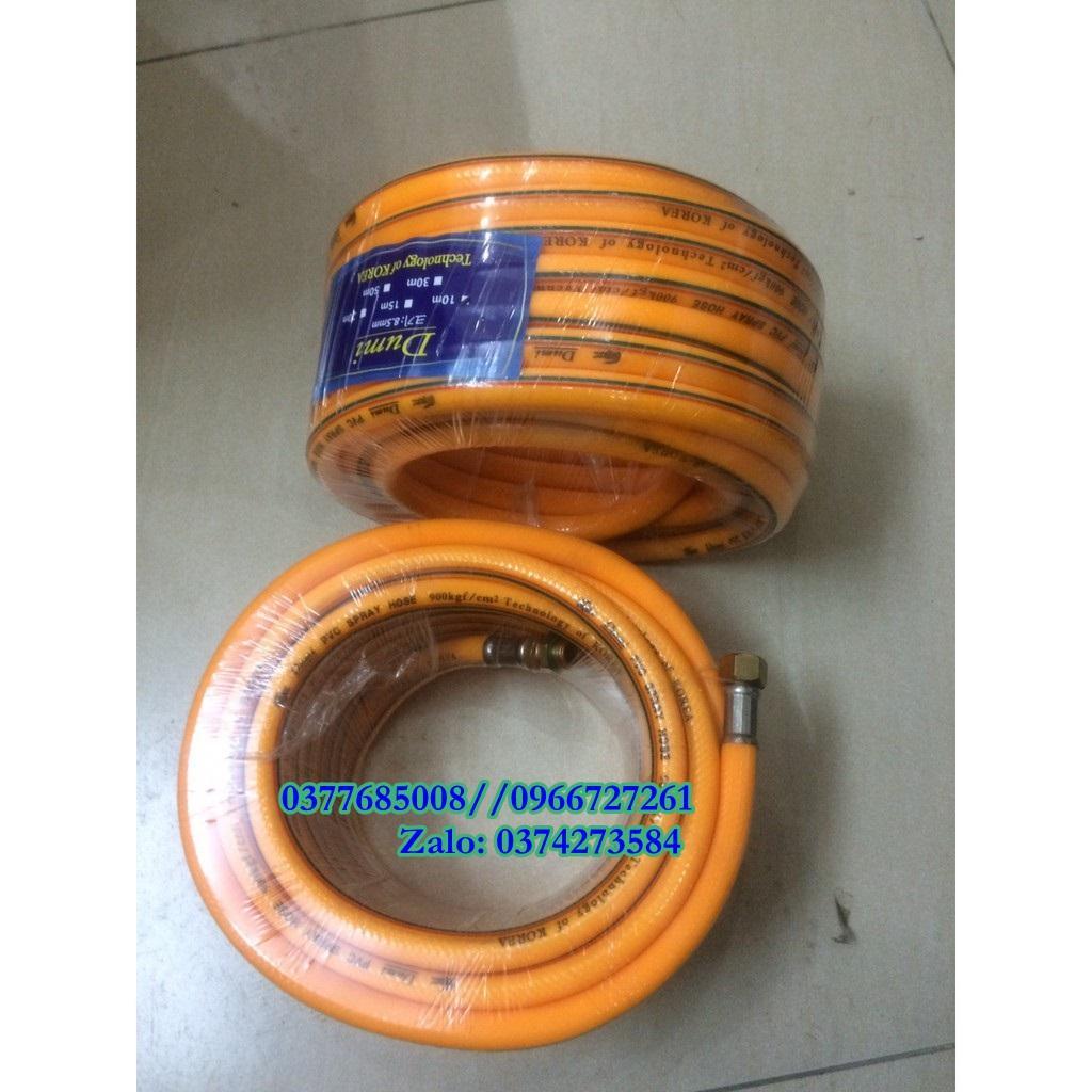 Cuộn 10m dây phun xịt áp lực cao 3 lớp bố sợi