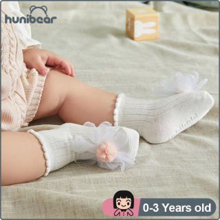 Vớ Bé Gái Vớ Hoa Ren Cotton Cho Trẻ Em Vớ Sàn Trẻ Em Chống Trượt 0-3 Năm