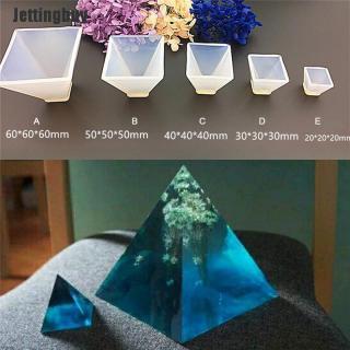 Kim tự tháp Silicone Khuôn Mẫu DIY Nhựa Trang Trí Khuôn Thủ Công Trang Sức Làm Khuôn Loại A thumbnail