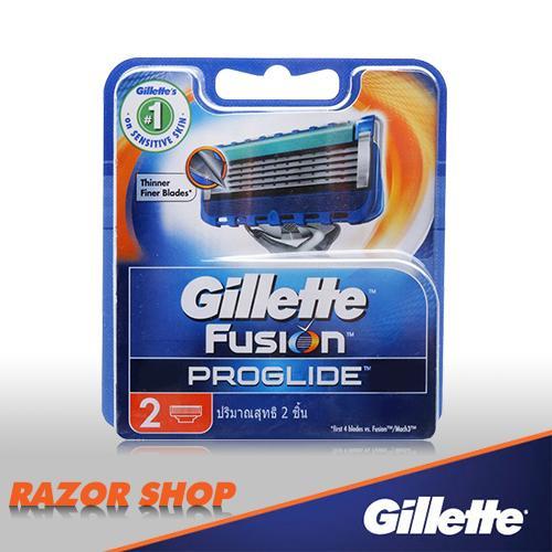 Vỉ 2 lưỡi dao cạo Gillette Fusion 5 + 1 Proglide