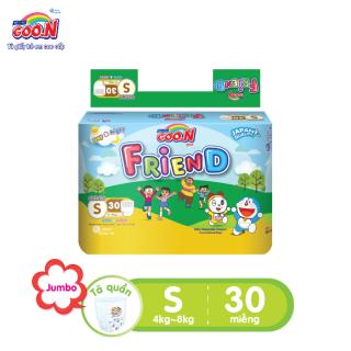 Tã quần Goo.N Friend gói đại size S 30 miếng dành cho bé từ 4 -8kg thumbnail