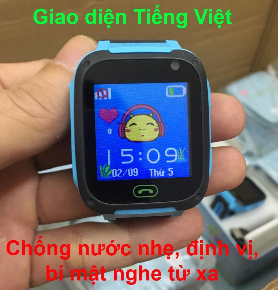 Giá bán Đồng hồ định vị trẻ em thông minh SmartKID Q99 bảo hành 12 tháng, màn hình cảm ứng có camera, giao diện Tiếng Việt