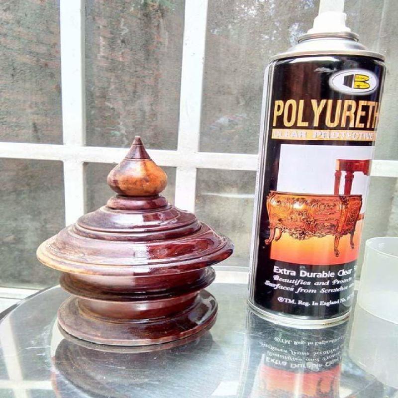 Sơn xịt bóng gỗ - sơn xịt PU Polyurethan Bosny