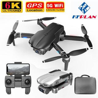 Flycam M9968 Thế Hệ 2021, Camera Wifi 5G 6K HD, G.P.S, Mô tơ Không Chổi Than, Bay Lâu 25 Phút