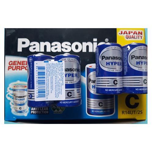 Pin trung C Carbon hộp 24 viên PANASONIC R14UT.2S