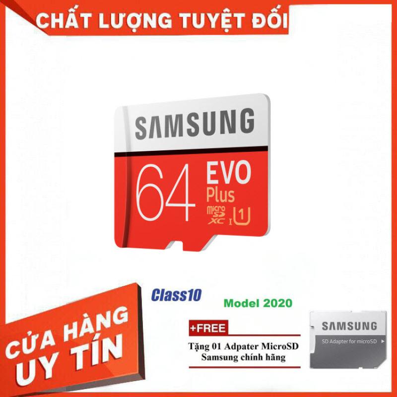 [Thanh Lý] Thẻ Nhớ MicroSDXC Samsung EVO Plus U1 64GB 100MB/s MB-MC64H 2020 - Bảo Hành 5 Năm