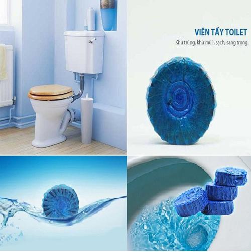 Viên tẩy và làm thơm toilet 2 viên