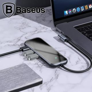 Hub chuyển đổi đa năng Baseus Multi-functional HUB (UCN3276) được trang bị các công nghệ tiên tiến và các chuẩn giao tiếp Type-C to 3xUSB 3.0+4K HD+PD+SD TF Adapter thumbnail