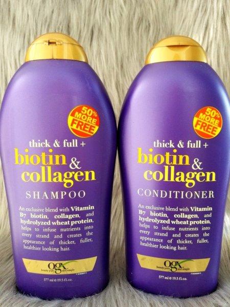 Dầu Gội Xả Biotin Collagen Chống Rụng Tóc Và Mọc Tóc Nhanh, Hương Thơm Dịu, 577ml giá rẻ