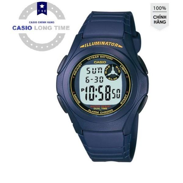 Đồng hồ Casio Nam F-200W-2BDF Chính Hãng - Chống Nước - Tuổi thọ Pin 7 Năm