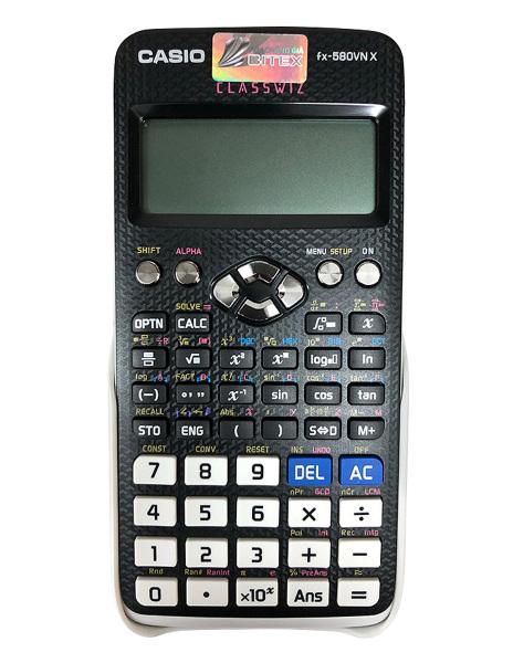 Mua Máy Tính Casio FX-580VN X - Hàng thái lan - có thẻ và tem bảo hành 2 năm - có ảnh thật