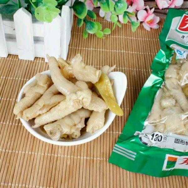 combo 5 gói chân gà cay yuyu 100g
