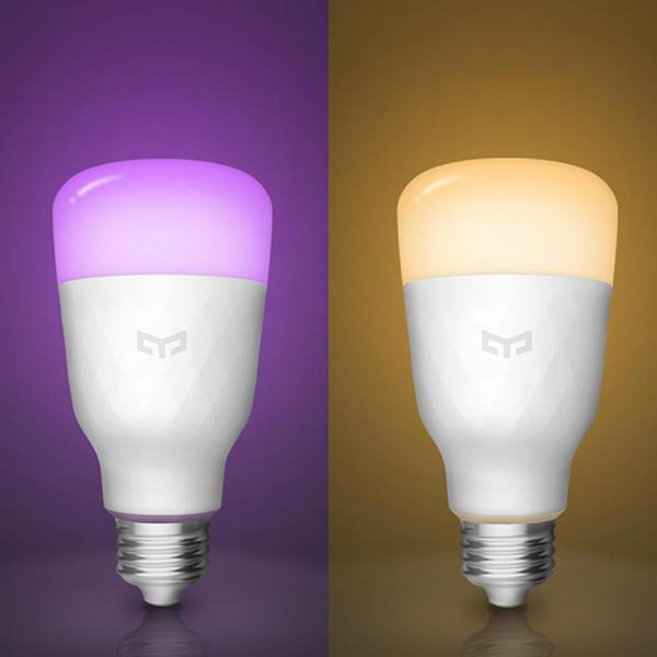Bóng đèn LED Wifi Yeelight Color Bulb (Gen 2) - Điều Khiển bằng App MiHome - Hàng Chính Hãng