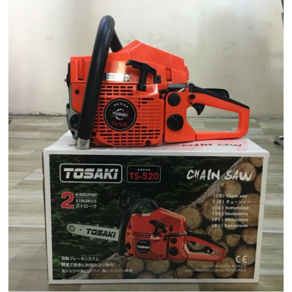 máy cưa xích tosaki ts 520 || giá rẻ dành cho các bac nông dân