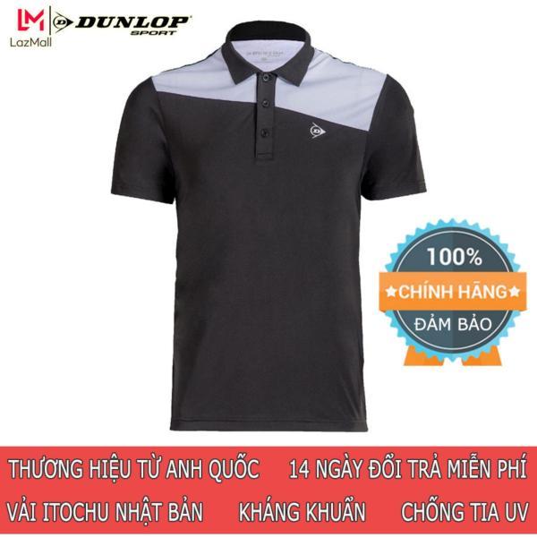 DUNLOP - Áo Tennis Nam Dunlop DATES8043-1C Thương hiệu từ Anh Quốc Đổi trả miễn phí (áo thể thao nam, áo nam, quần áo thể thao, tennis, tennis nam, đồ tennis, đồ thể thao nam)