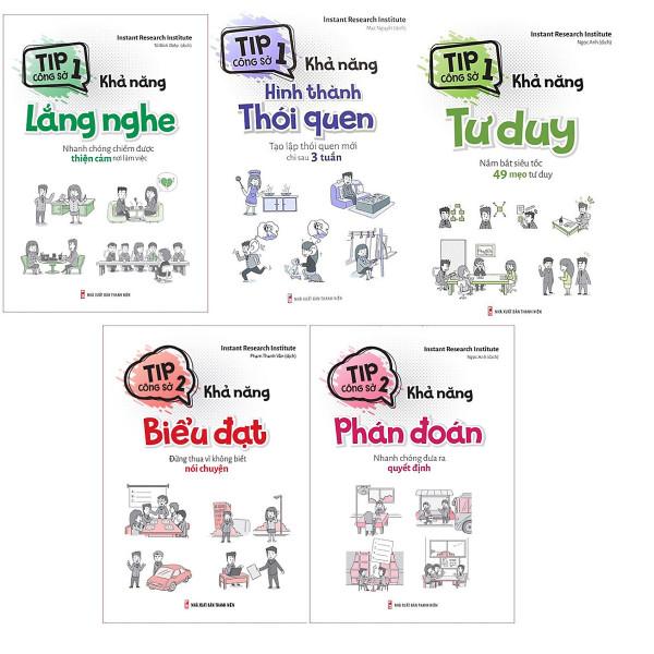 Combo sách - Tip công sở 2 (5 cuốn Lẻ tùy chọn) (MinhLongbook)