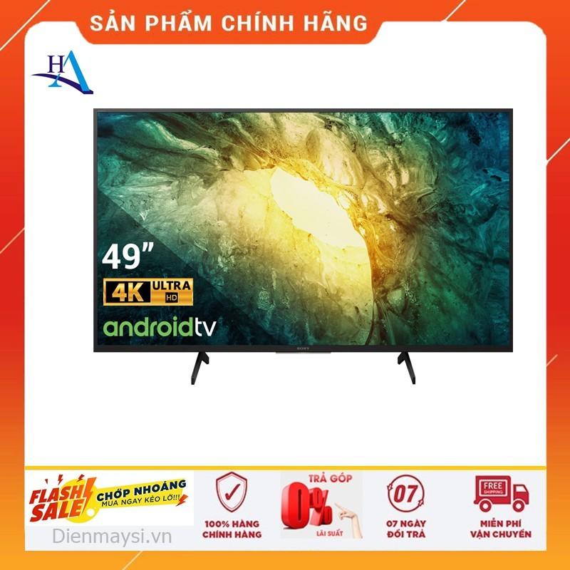 Bảng giá [HCM]Android Tivi Sony 4K 49 inch KD-49X7500H (Miễn phí giao tại HCM-ngoài tỉnh liên hệ shop)