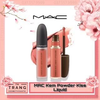 Son Kem Mac Powder Kiss Liquid Lipcolour, Son Mac Kem Lì Full Size 5ml đủ màu, Bộ Sưu Tập Những màu son đình đám nhà Mac Lipstick thumbnail