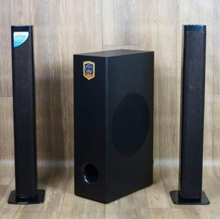 ( XẢ KHO - GÍA SỐC ) Loa Vi Tính Lohao MAV 2235 - Loa Soundbar 2.1 Âm Thanh Stereo Rạp Hát, Kết Nối Bluetooth 5.0 - 2 Loa Vệ Tinh Kèm Sub Hơi 2 Tấc -Công Suất Lên Đến 100W, Kèm Remote, Loa Ti Vi Soundbar Âm Thanh 3D Stereo Cực Kỳ Sống Động thumbnail