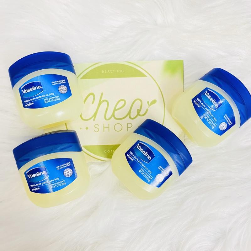 Sáp dưỡng ẩm Vaseline original 100% pure petroleum jelly 49g