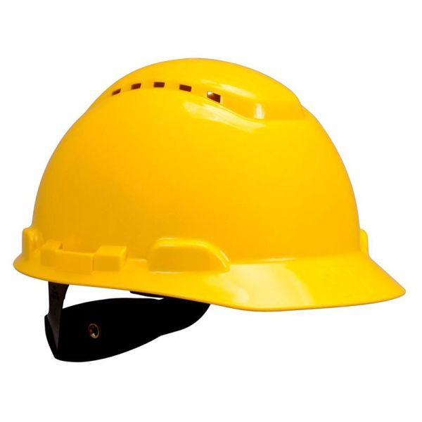 H702V  Nón bảo hộ có ven màu vàng