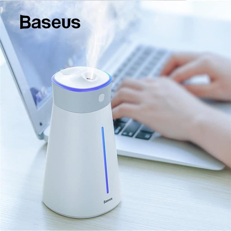 Baseus Máy Phun Sương 380ml Tạo Độ Ẩm Lọc không khí Slim Waist Humidifier