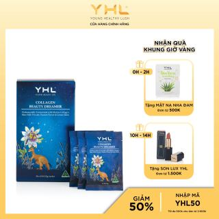 Collagen beauty cải thiện giấc ngủ YHL cho các nàng, 8,5g gói, 30 gói hộp Úc thumbnail