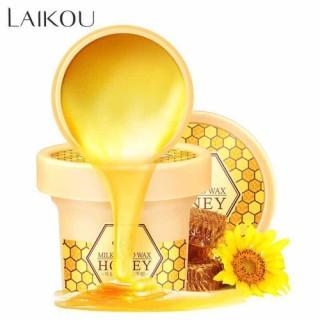 Mặt Nạ Dưỡng Da Tay Laikou Chiết Xuất Sữa Và Mật Ong 120g thumbnail