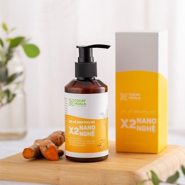 Gel vệ sinh X2 NANO NGHỆ- Ngăn ngừa viêm nhiễm, nấm ngứa
