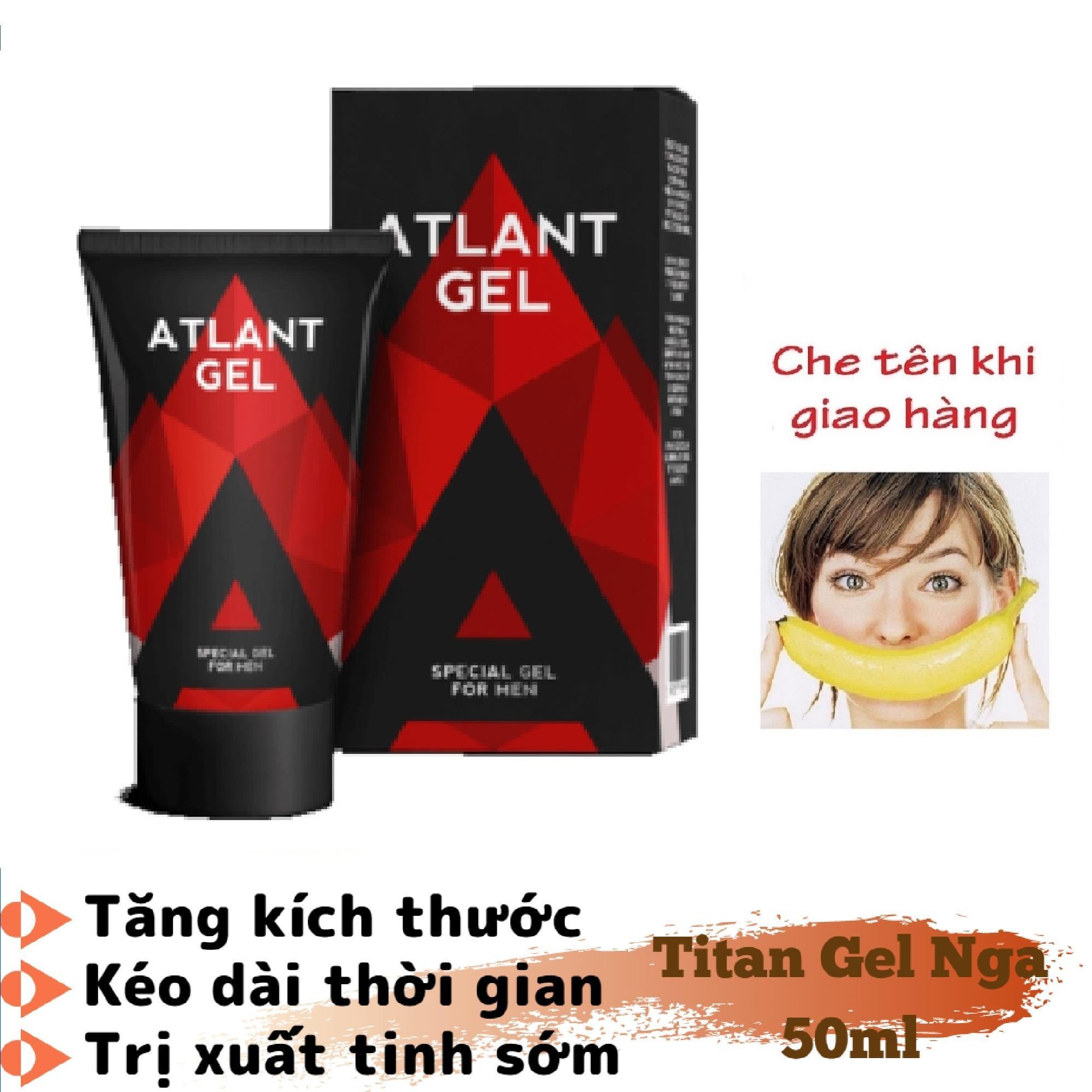 (Hàng chuẩn Nga)_ATLAN-Gel (Super_Titan-Gel) - tăng kích_thước, tăng cường_sinh_lý nam giới (50ML) nhập khẩu