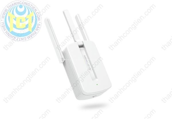 Mercusys MW300RE Bộ mở rộng sóng Wi-Fi tốc độ 300Mbps (hàng chính hãng giao diện tiếng Anh)